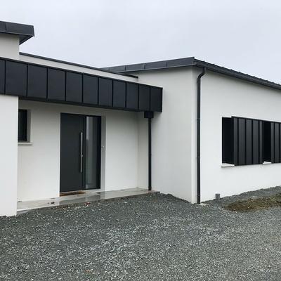 Construction d''une contemporain à Saint-Alban 22 400