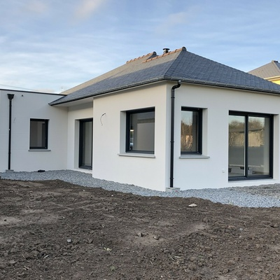 Construction d''une maison individuelle à PLAINTEL