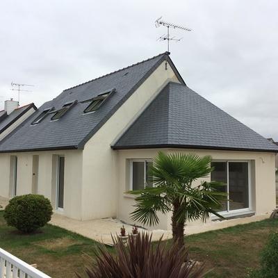 Extension et aménagement de combles secteur d''Yffiniac- Côtes d''Armor.