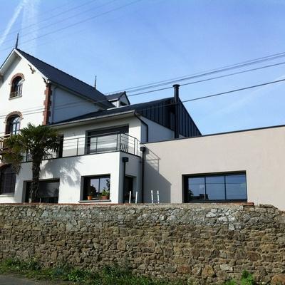 Rénovation et Extension àÉtables-sur-Mer d''une maison bourgeoise