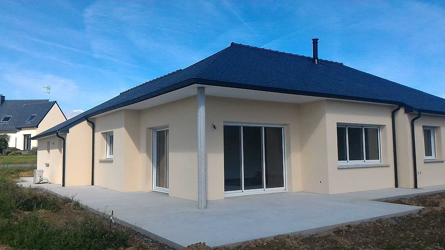 Maison en plain pied située à Plémy - Secteur Moncontour - 110 m2 0