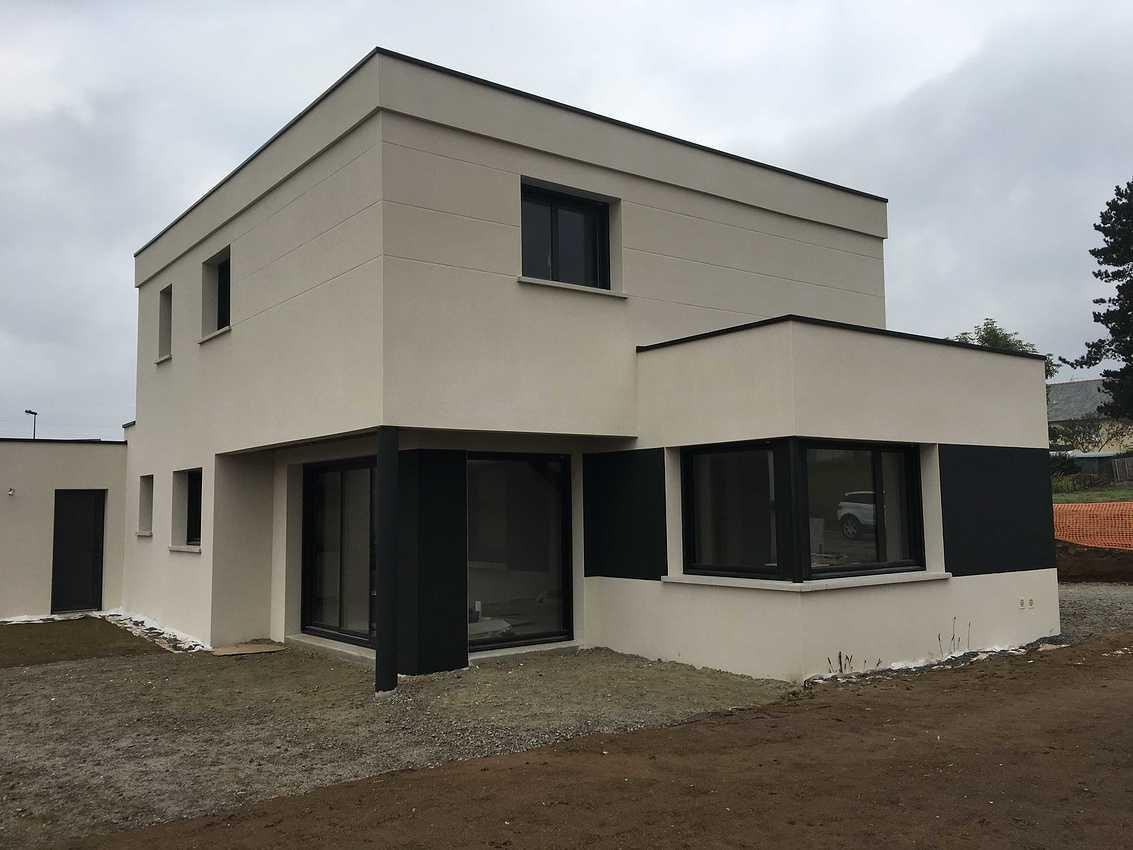 Maison contemporaine de 140 m²- à Plaine Haute ( Côtes d''Armor 22 ) img0402
