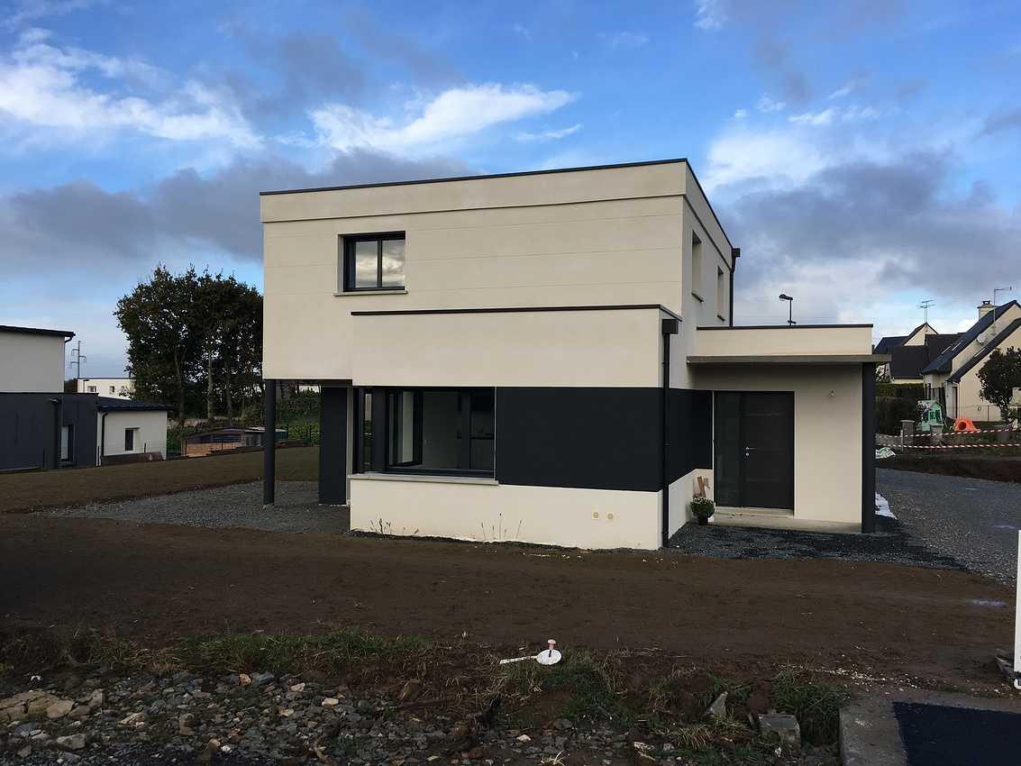Maison contemporaine de 140 m²- à Plaine Haute ( Côtes d''Armor 22 ) 0