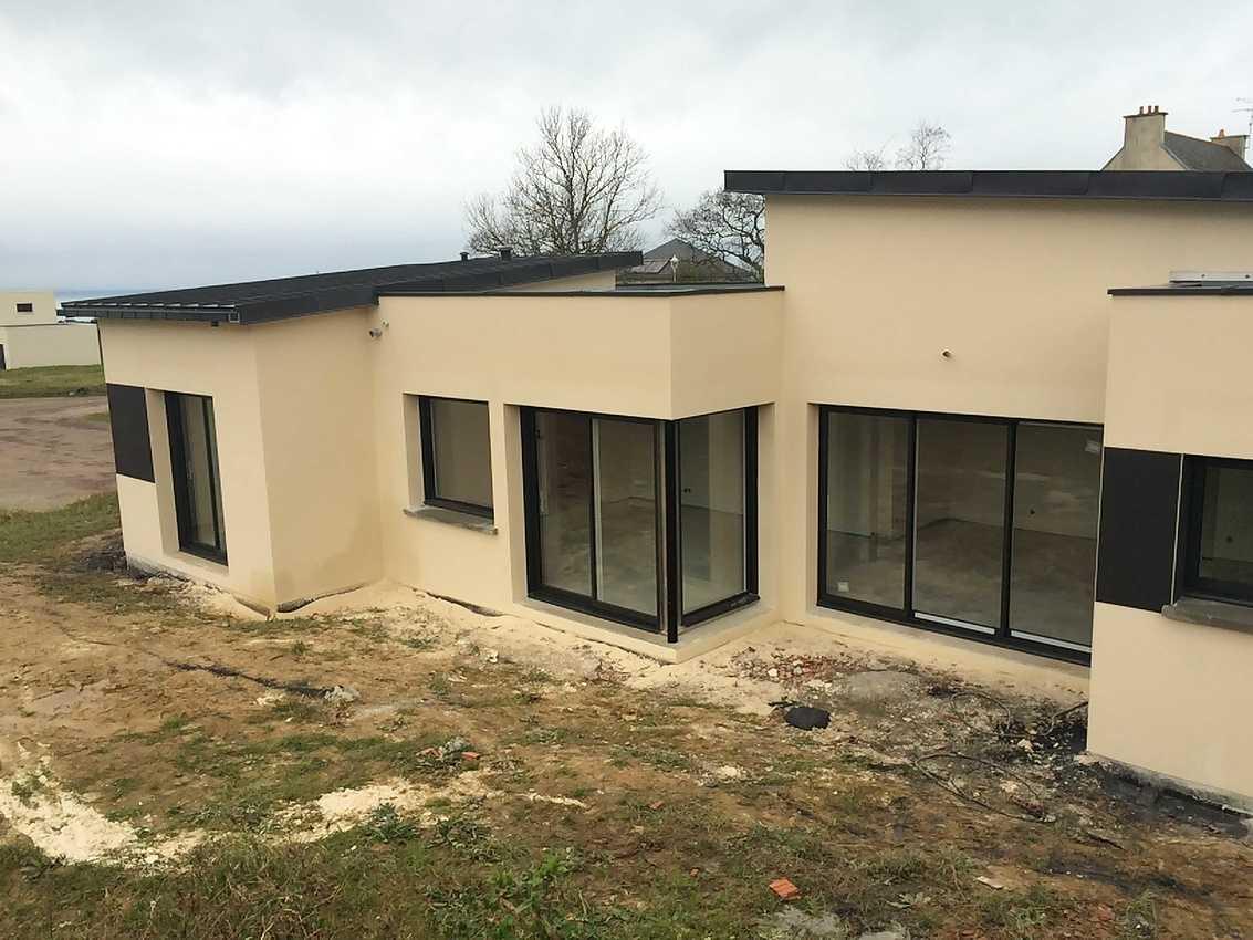 Maison contemporaine de plain pied de 114 m2 à Pléneuf-Val-André img4571