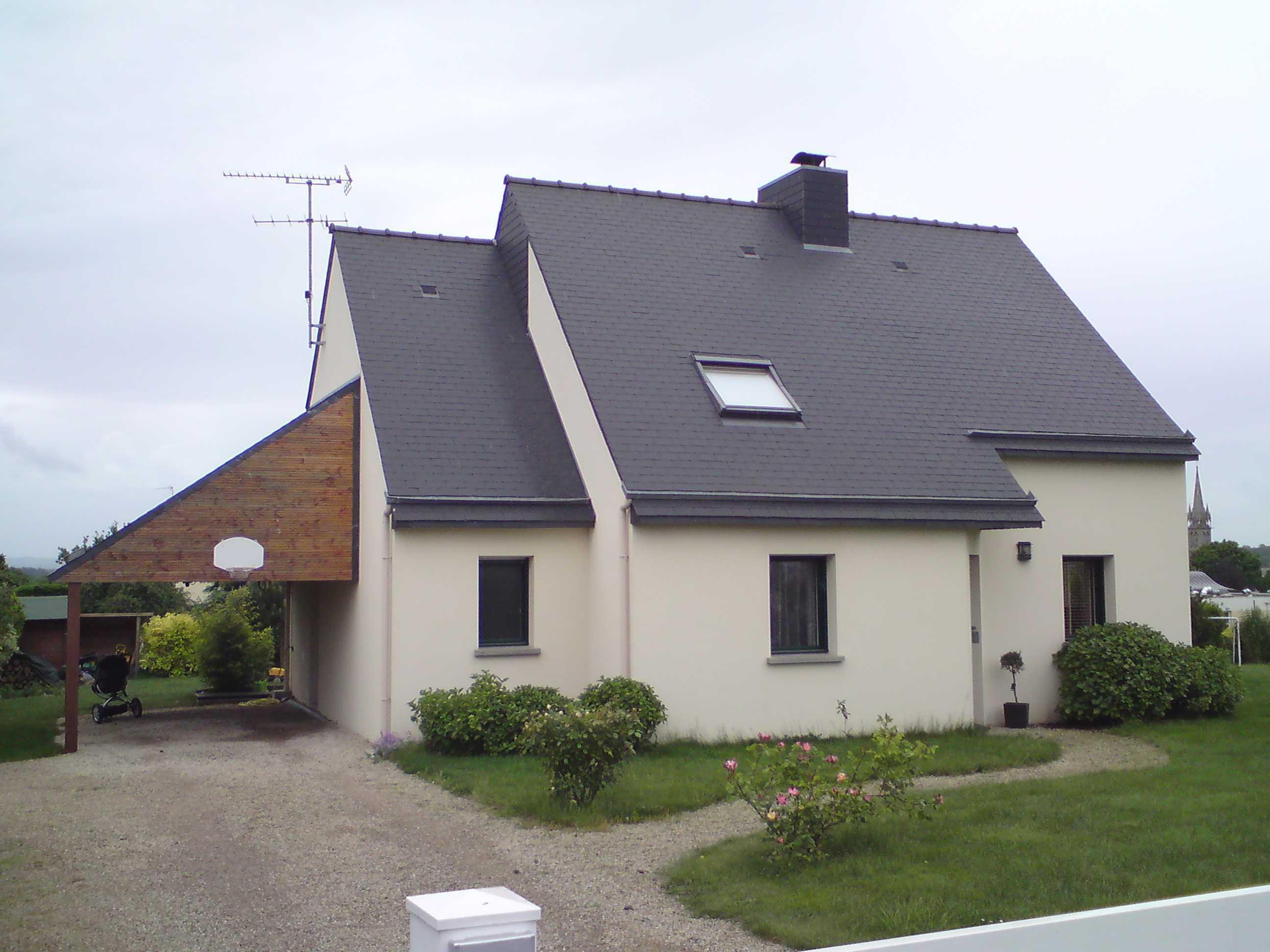 Extension Habitation extension d'une habitation contemporaine à planguenoual 22400
