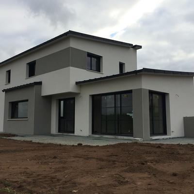 Réalisation d''un Maison d''habitation de 130m² à Plaintel secteur de St Brieuc.