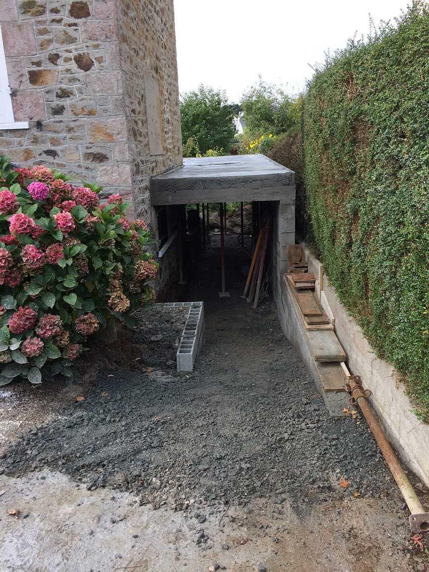 Extension Bois à Pléneuf Val André - côtes d''Armor 22 img1241