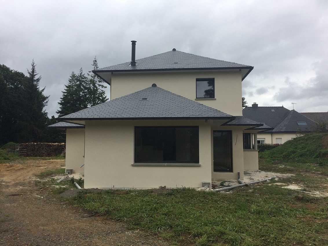 Construction d''une Habitation traditionnelle à Lanvollon - Guingamp img0971