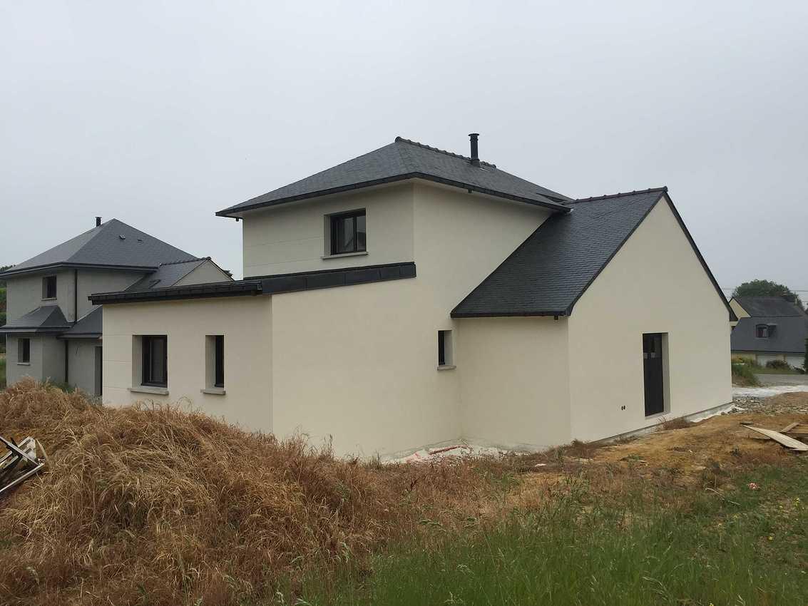 Construction d''une Habitation traditionnelle à Plédran - secteur St Brieuc (22) img4001
