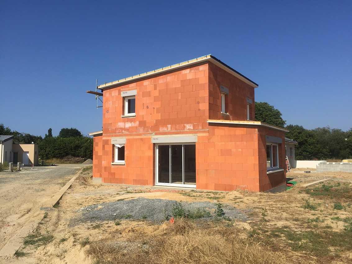 Construction d''une Habitation contemporaine à Plédran (22 ) -Agglomération de St Brieuc- img5257