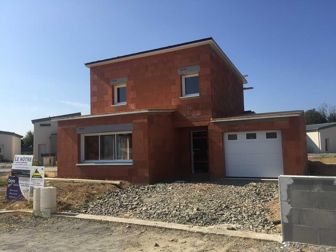 Construction d''une Habitation contemporaine à Plédran (22 ) -Agglomération de St Brieuc- img5260