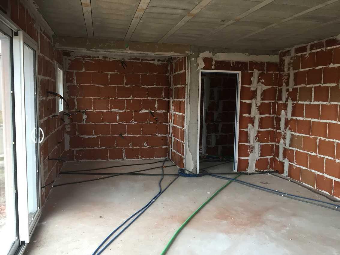 Construction d''une Habitation contemporaine à Plédran (22 ) -Agglomération de St Brieuc- img6181