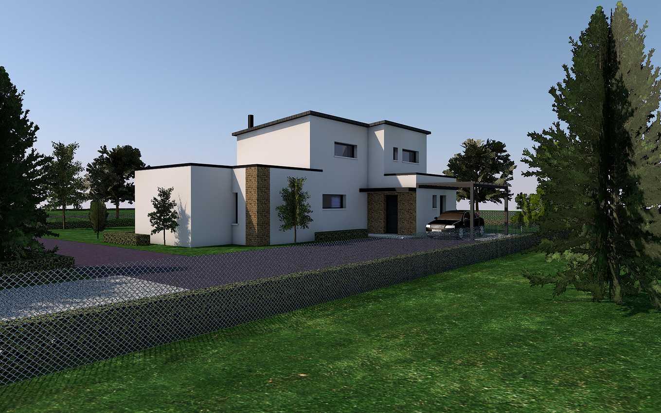 Avant-projet maison - Henon 0