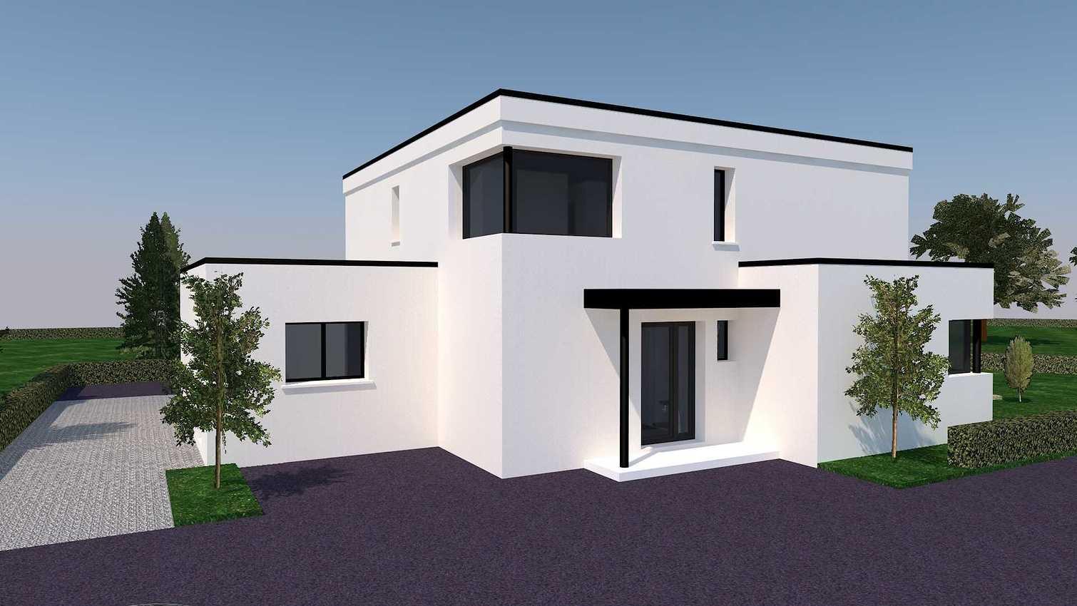 Projet de construction maison neuve et contemporaine - Langueux presentation33