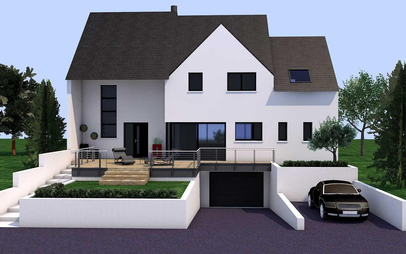 Projet de construction maison - sur Pléneuf-Val-André presentation1