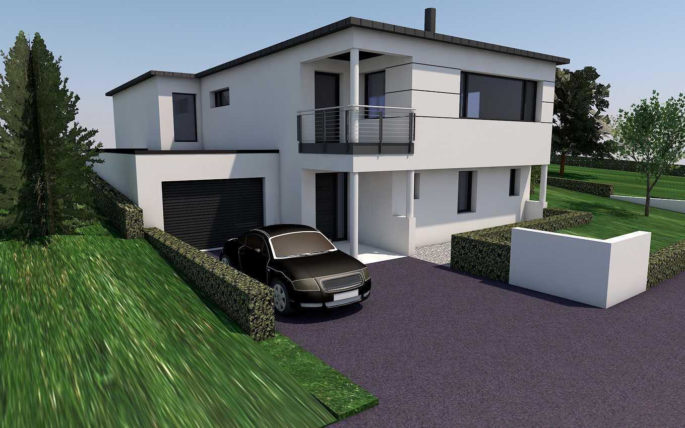 Projet de construction maison sur plusieurs niveaux- Pléneuf-Val-André 0