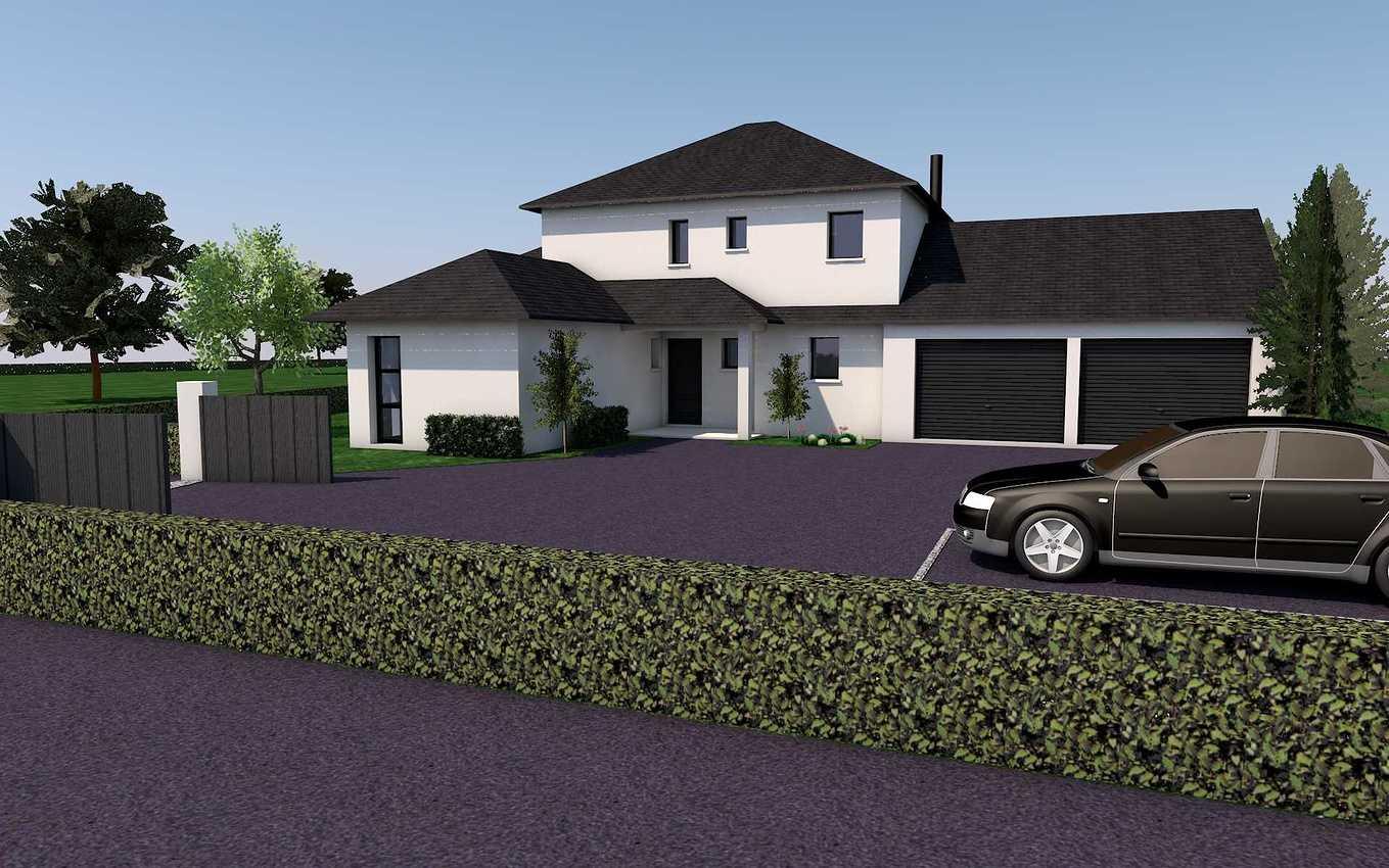 Avant projet d''une habitation de style traditionnel - Coetmieux presentation24