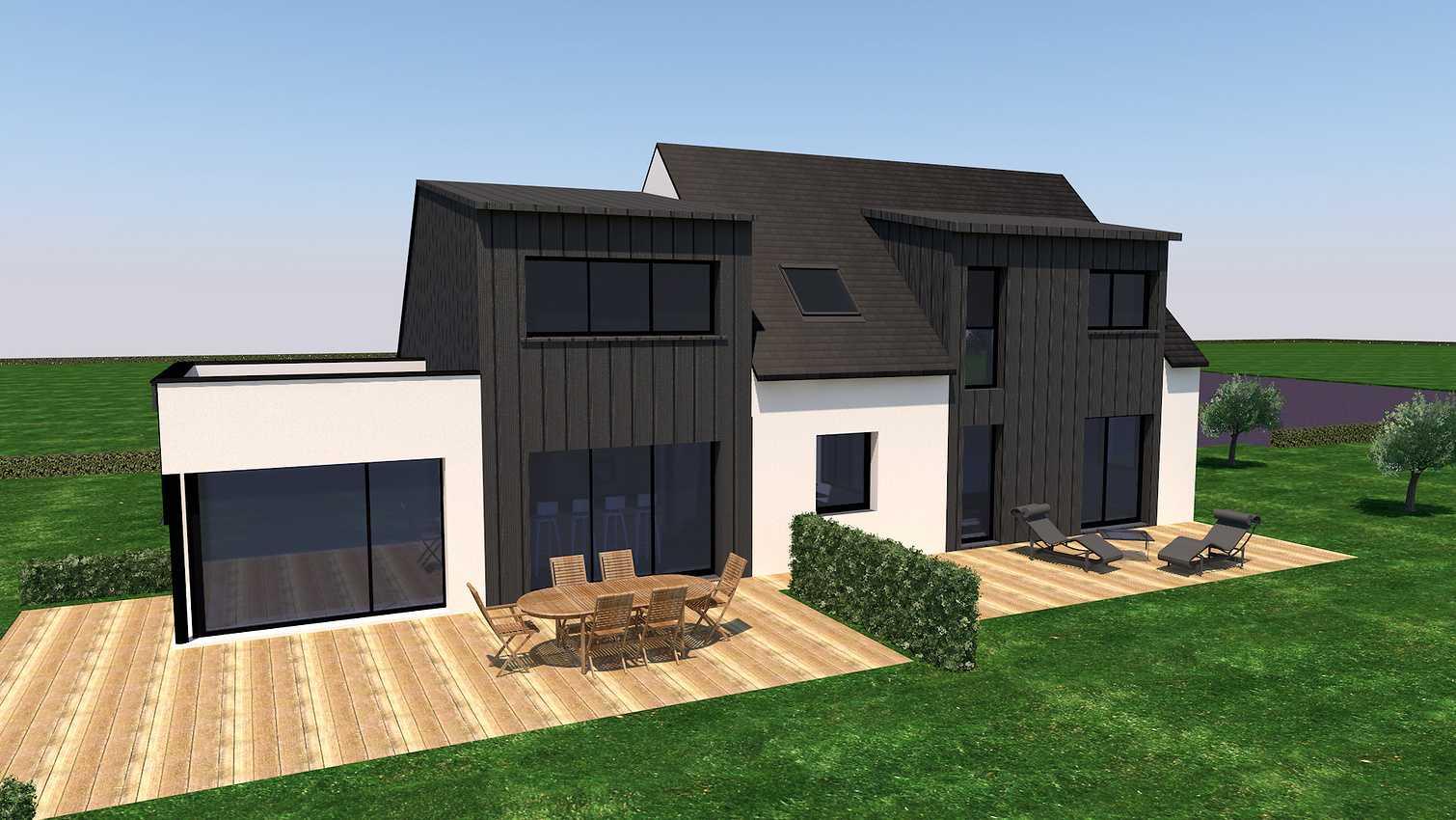 Projet d''extension et Rénovation sur la commune d''Andel 0