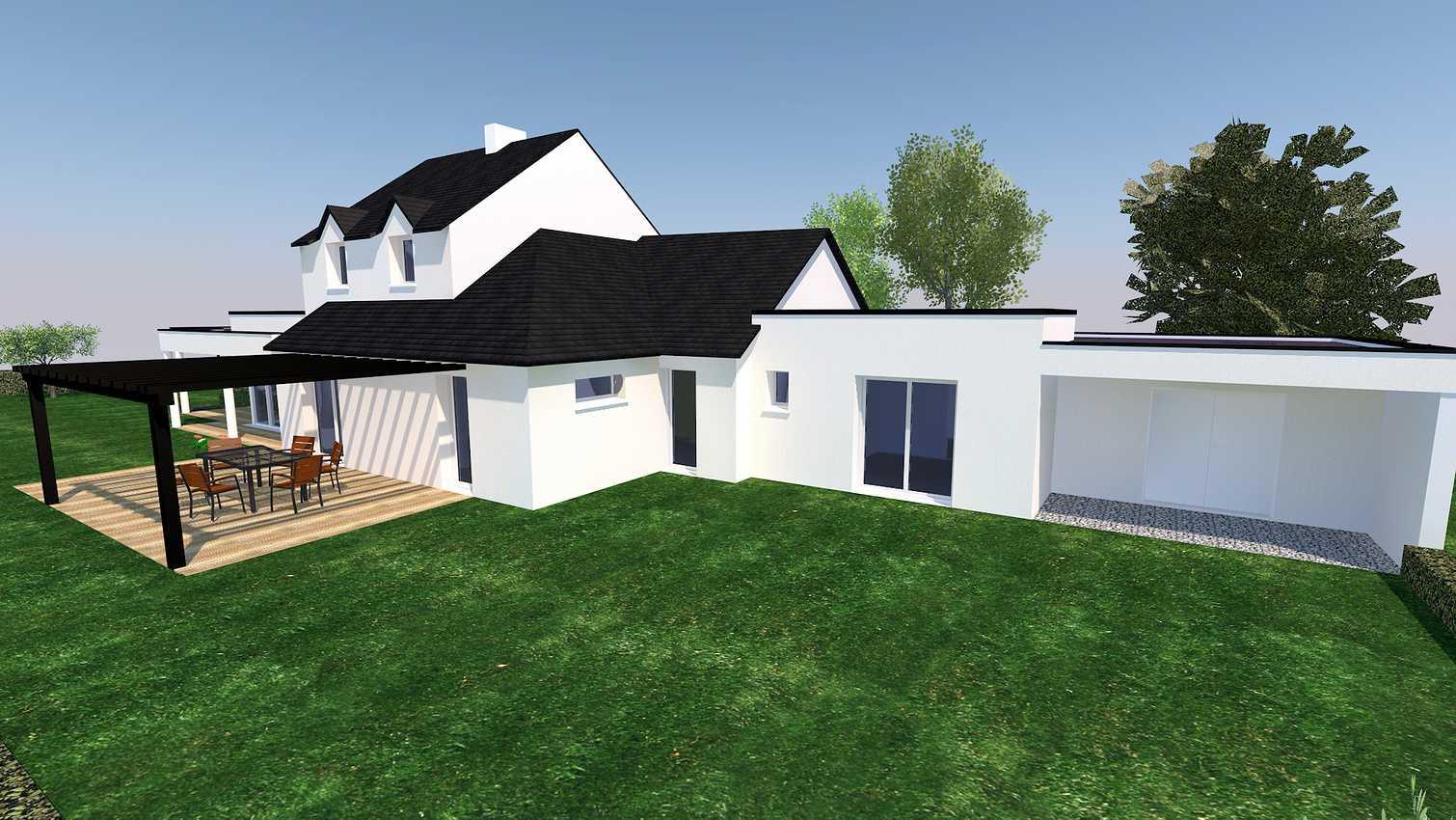 Projet d''extension et Rénovation sur la commune de PLEVENON presentation1