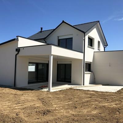 Construction d''une Habitation Contemporaine à Pléneuf-Val-André