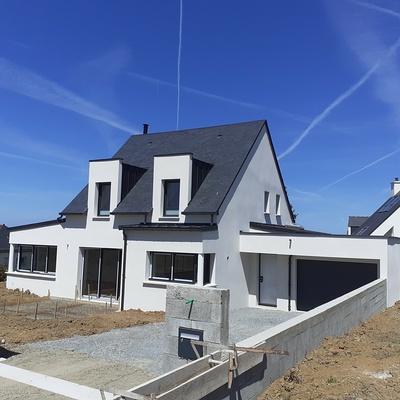 Construction d''une habitation à Pléneuf-Val-André 22 370