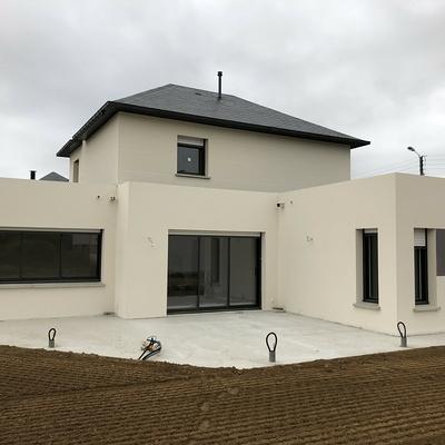 Construction d''une Habitation traditionnelle à St Alban - secteur Lamballe (22)