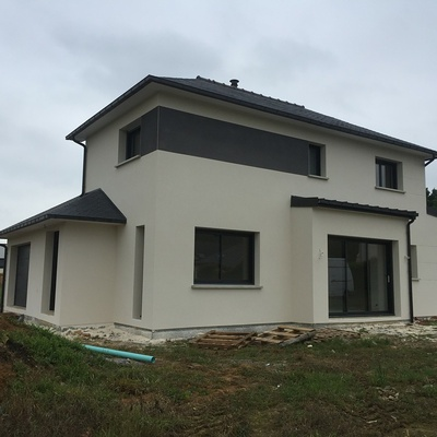 Construction d''une Habitation traditionnelle à Plédran - secteur St Brieuc (22)