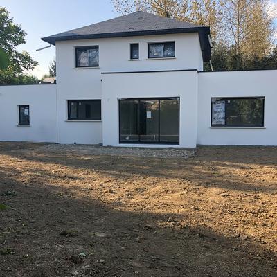 Construction d''une Habitation traditionnelle à Saint Julien 22940 - Côtes d''armor (22)