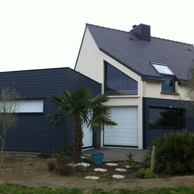 Extension d''une Habitation contemporaine à Planguenoual  22400