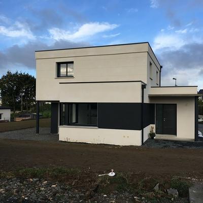 Maison contemporaine de 140 m²- à Plaine Haute ( Côtes d''Armor 22 )