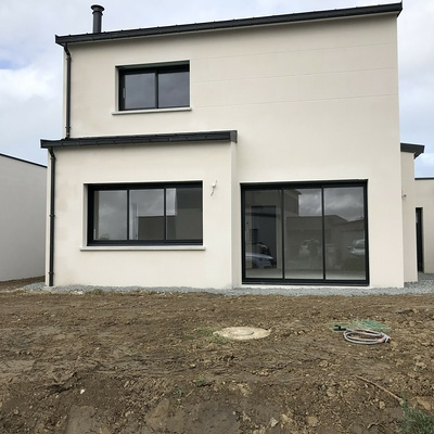 Maison contemporaine à Planguenoual 22400 - Côtes d'Armor (22)