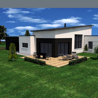 Projet de construction maison avec modules- Plurien