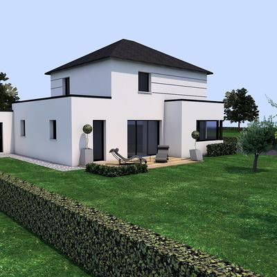 Projet de construction sur la commune de Pluduno.