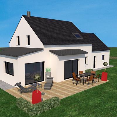 Projet de construction d''une habitation sur Coetmieux