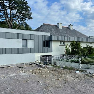 Rénovation totale d''une maison à Hillion - Bretagne