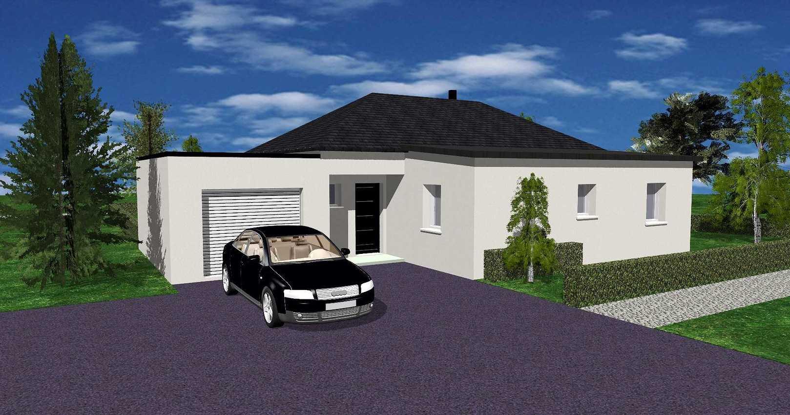 Maison de plain pied à Plédéliac de 70 m² - Secteur Lamballe(22400 ) 0.1ins