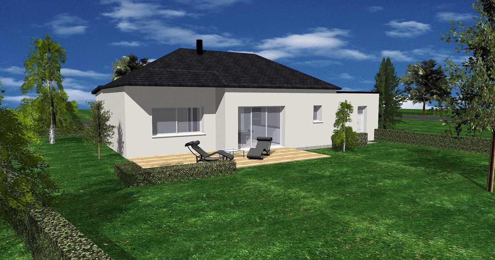 Maison de plain pied à Plédéliac de 70 m² - Secteur Lamballe(22400 ) 0.2ins