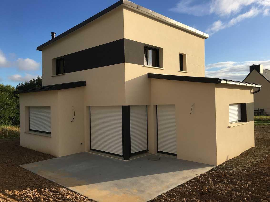 Construction d''une maison Individuelle de 105 m² à Saint-Brandan 0