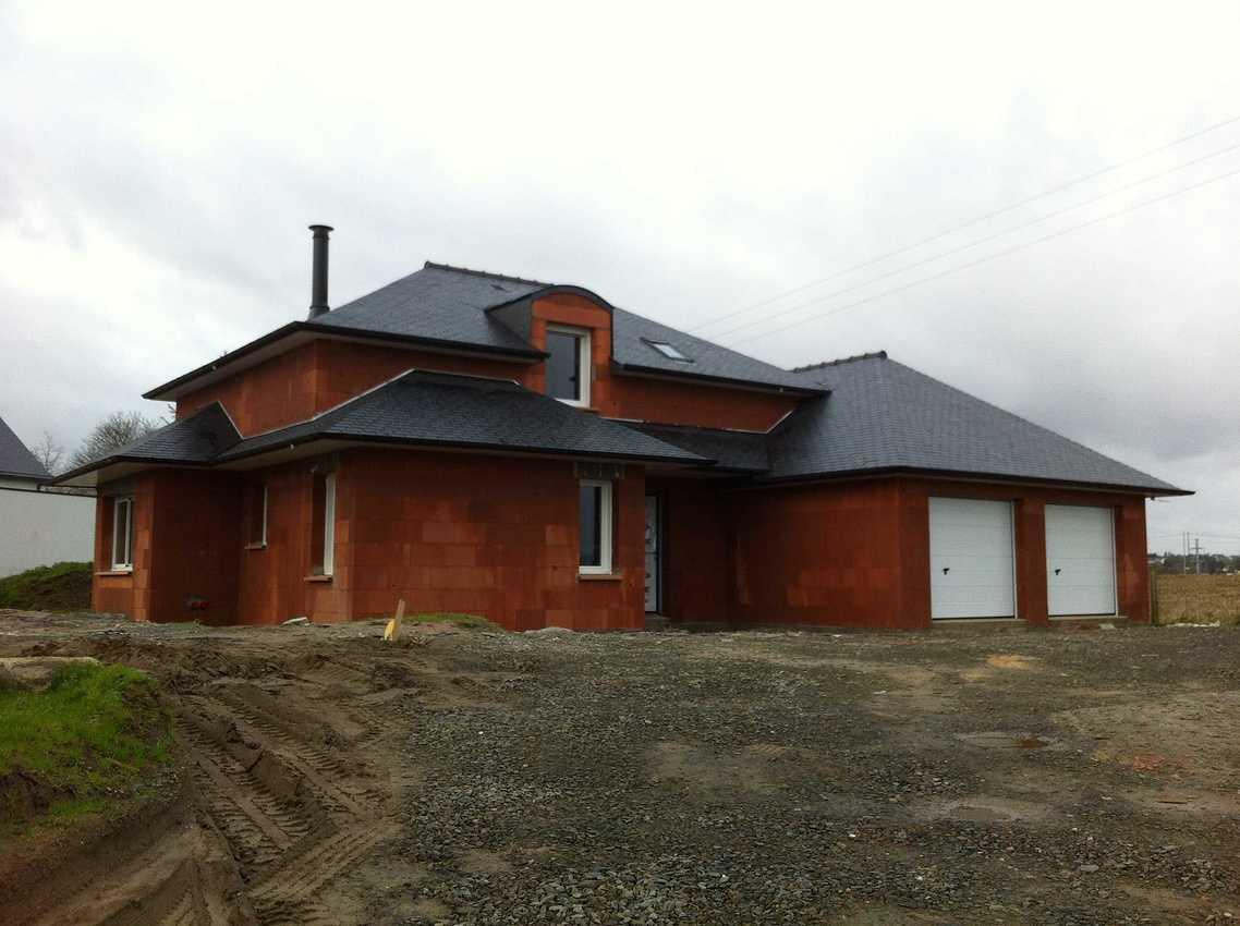 Construction d''une Maison Individuelle de 145 m² à Pordic. img7373