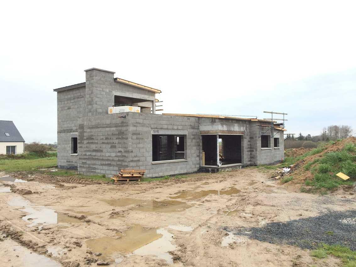 Construction sur la commune de Saint-Trimoël d''une Maison Individuelle de 140 m² 1.1