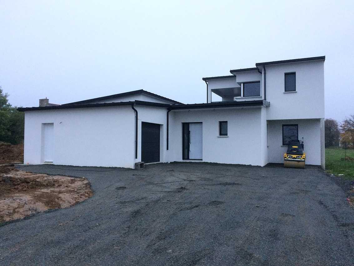 Construction sur la commune de Saint-Trimoël d''une Maison Individuelle de 140 m² 0