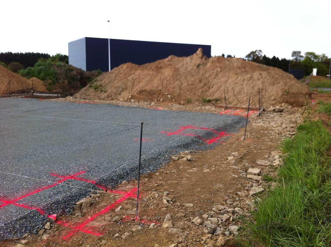 Réalisation d''un Bâtiment Artisanal sur la commune de Plaintel img8350