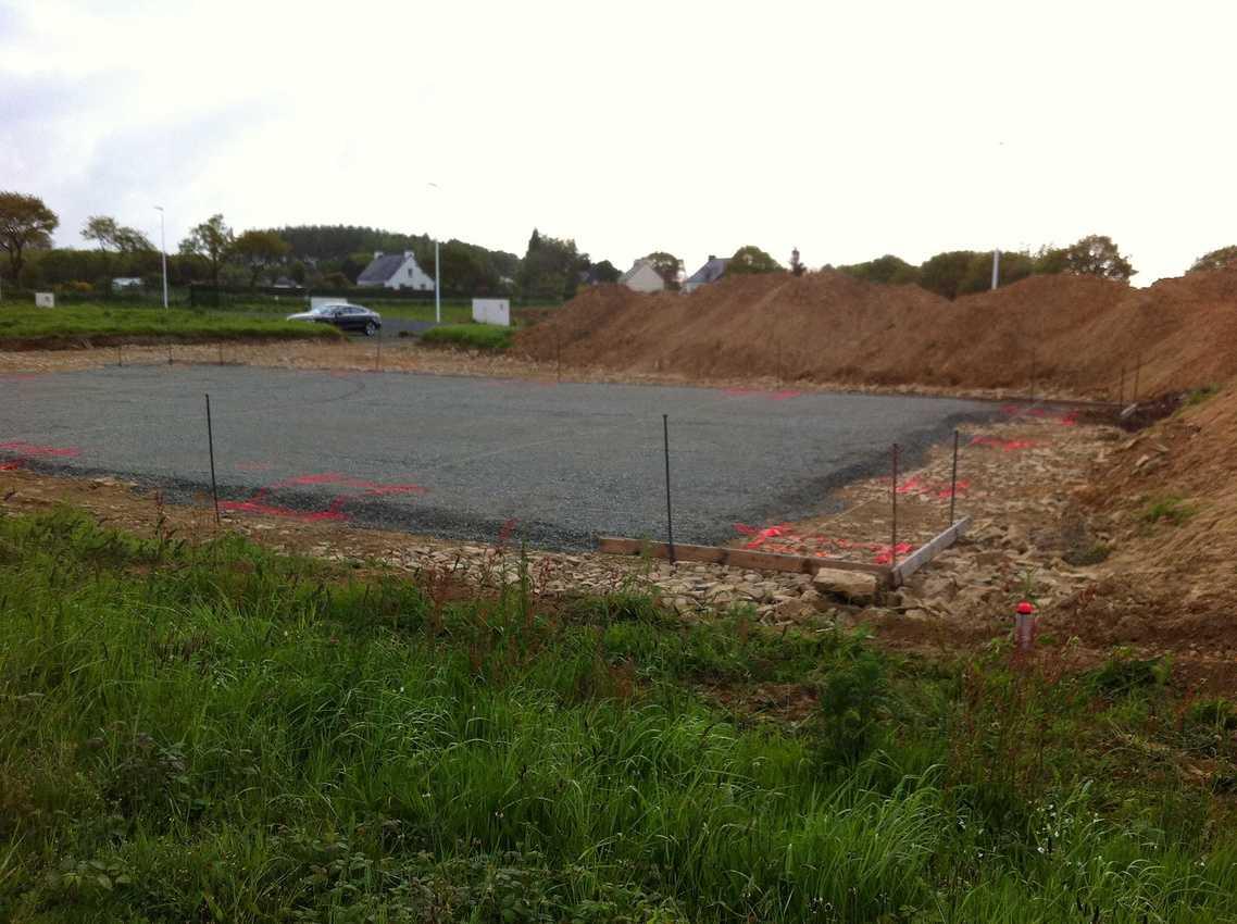 Réalisation d''un Bâtiment Artisanal sur la commune de Plaintel img8352