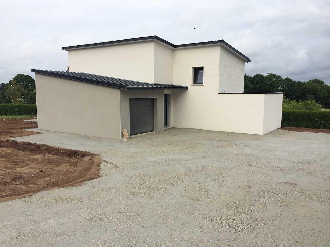 Réalisation d''un Maison d''habitation de 130m² à Plaintel secteur de St Brieuc. img2407