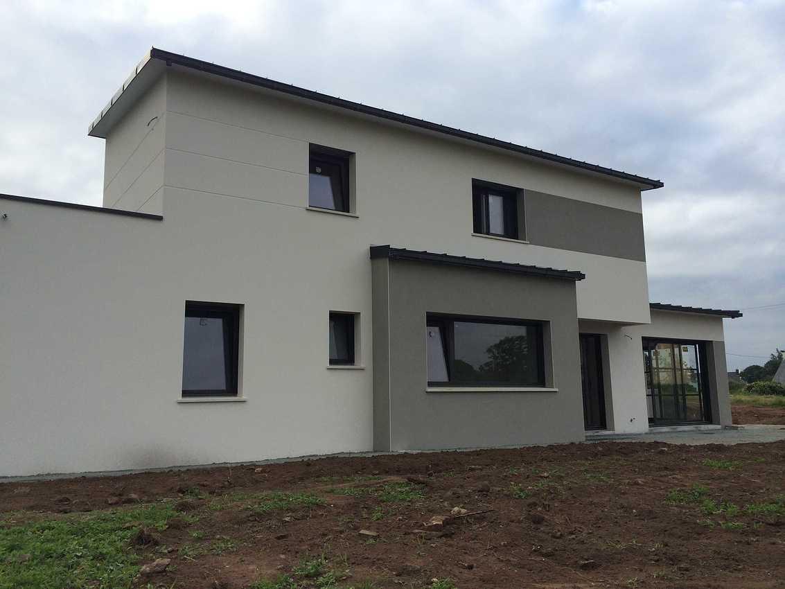 Réalisation d''un Maison d''habitation de 130m² à Plaintel secteur de St Brieuc. img2413