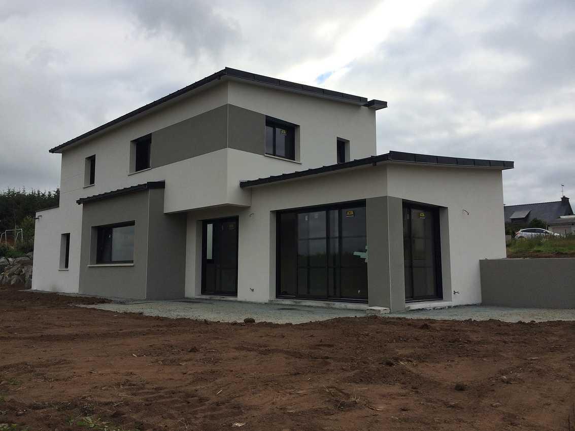 Réalisation d''un Maison d''habitation de 130m² à Plaintel secteur de St Brieuc. 0