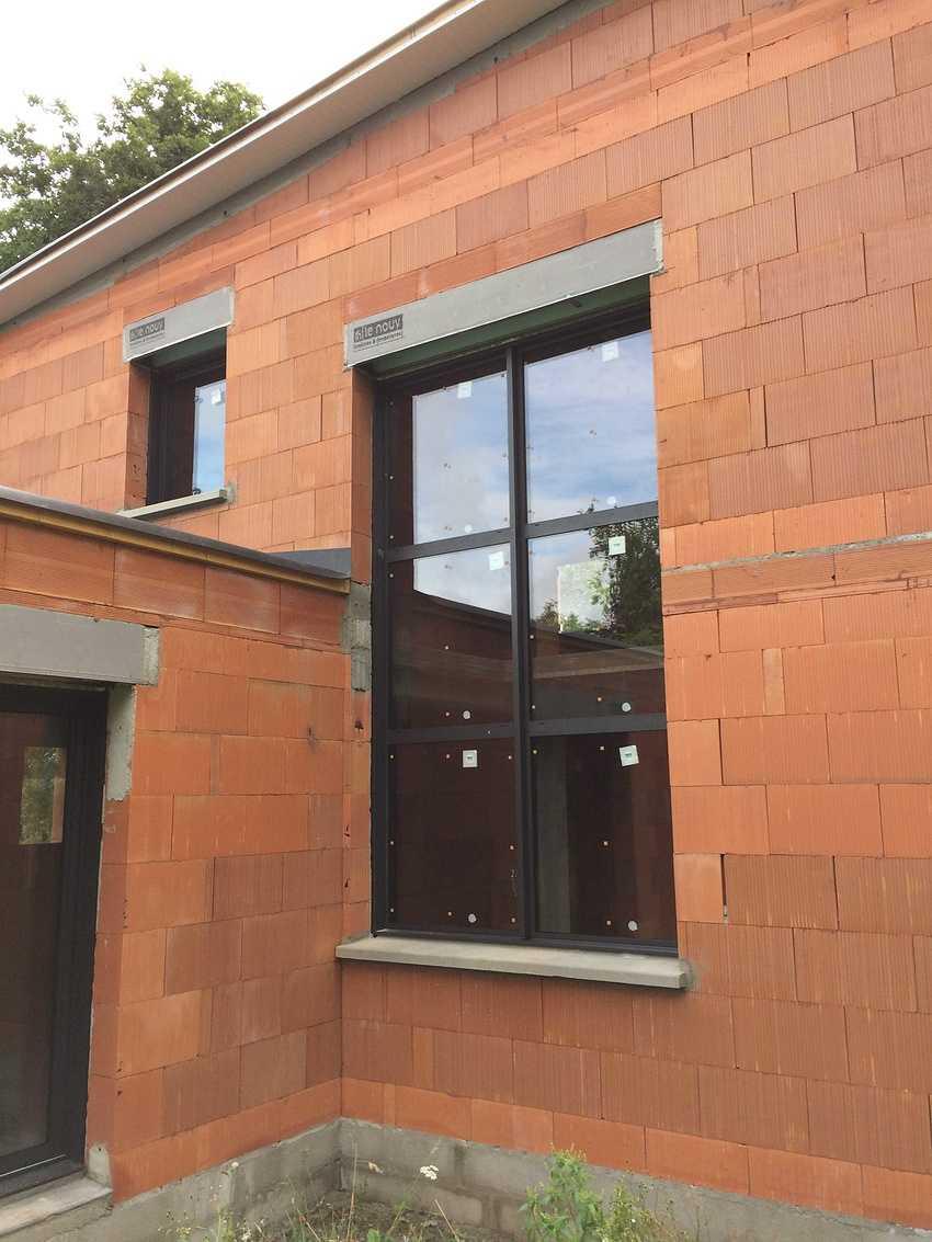 Construction d''une maison individuelle contemporaine à St Trimoël img0736