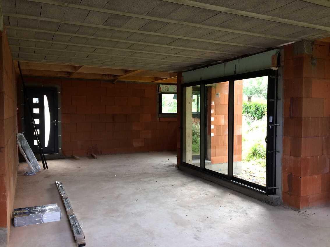 Construction d''une maison individuelle contemporaine à St Trimoël img0745