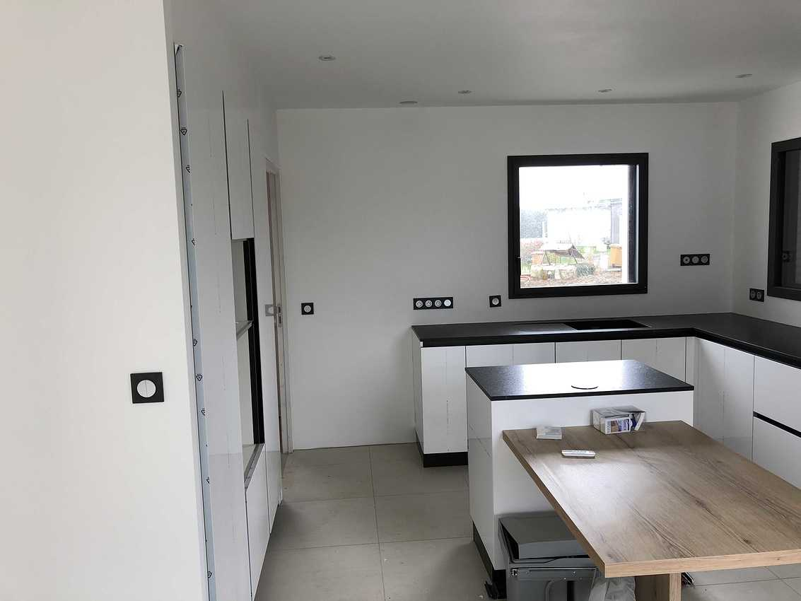 Construction d''une maison individuelle à Ploufragan 22 img6115