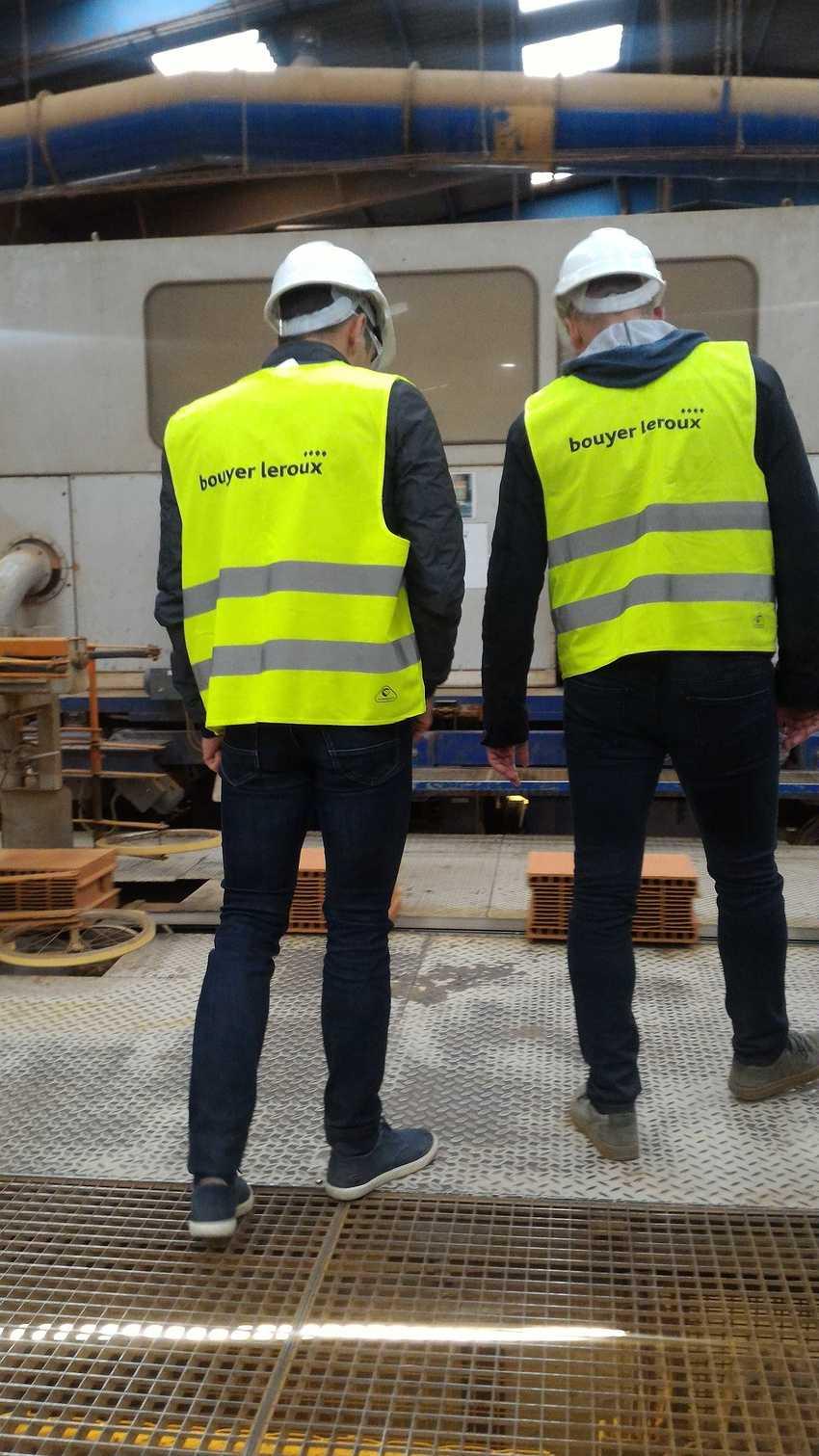 Visite Bouyer Leroux - Fabrication du Bloc en terre cuite p20180601121500